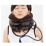 Ортопедический лечебный массажный воротник на шею Brown, фото 4