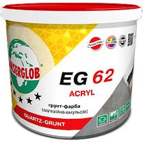 EG62 Адгезионая эмульсия (грунт-краска) акриловая  5л/7,5кг. ANSERGLOB