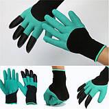 Перчатка с когтями для сада Garden Genie Gloves, фото 7