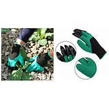 Перчатка с когтями для сада Garden Genie Gloves, фото 8
