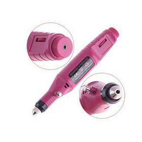 Машинка для полірування нігтів манікюру педикюру фрезер MM 300 Pink