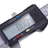 Электронный штангенциркуль с LCD микрометр в кейсе, фото 3