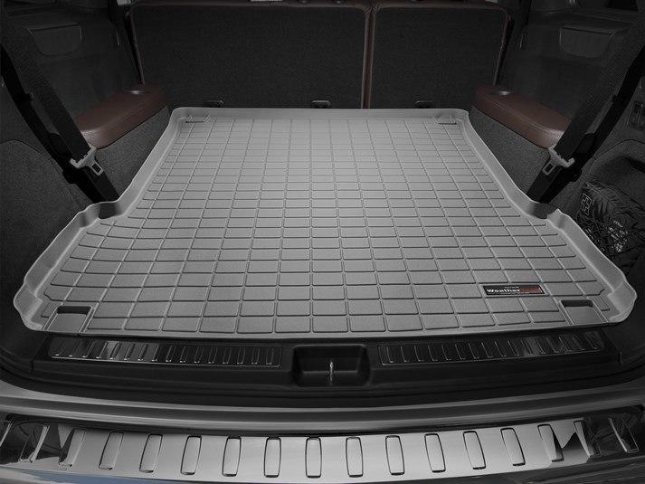 Ковер резиновый WeatherTech MB GL 2013-2015   в багажник серый