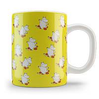 Кружка чашка Муми-тролль