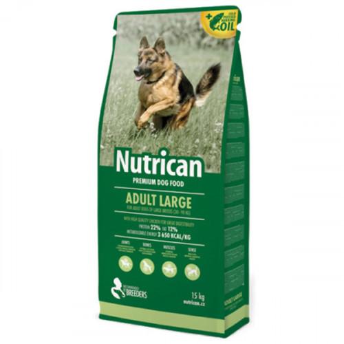 Сухой корм Nutrican Adult Large для собак крупных пород любого возраста со вкусом курицы, 15 кг