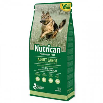 Сухой корм Nutrican Adult Large для собак крупных пород любого возраста со вкусом курицы, 15 кг, фото 2