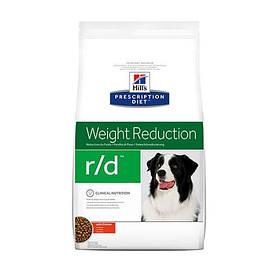 Сухой корм Hills Prescription Diet Canine r/d Weight Reduction для собак курицей, 12 кг