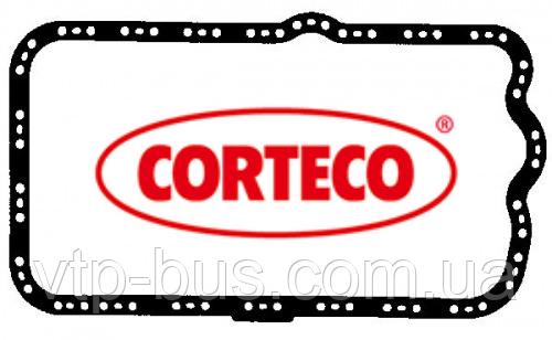 Прокладка масляного поддона на Renault Trafic Opel Vivaro 2.5dCi с 2003 по 2014 Corteco (Италия) 023665P