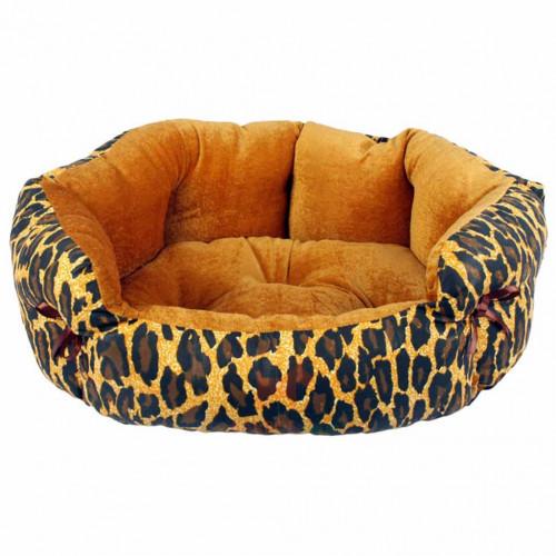 Лежанка Елегант 2 для собак і кішок, 50 х 40 х 18 см