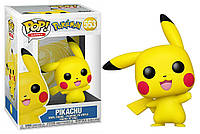 Фигурка Funko Pop Фанко Поп Покемон Пикачу Pokemon Pikachu Waving 10 см P W 553