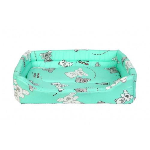 Лежанка прямая №3 для собак и кошек, 43 х 56 х 16 см