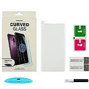 Защитное стекло UV для SAMSUNG G975 Galaxy S10 Plus (0.25 мм, 3D, прозрачное) в комплекте с UV клеем и лампой
