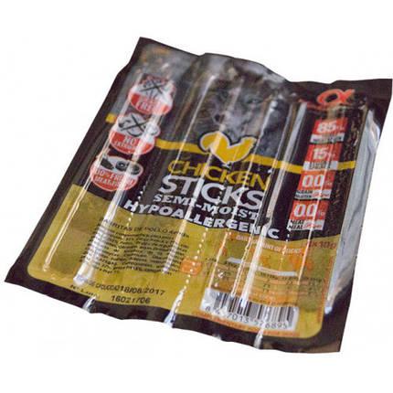Полувлажное лакомство палочки Alpha Spirit Sticks Chicken для взрослых собак со вкусом курицы 40 г x 4 шт, фото 2