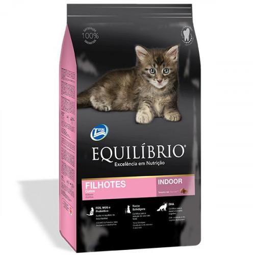 Сухой корм Equilibrio Cat суперпремиум, для котят, 0.5 кг