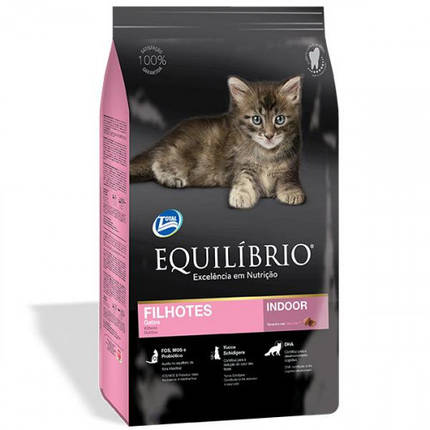 Сухой корм Equilibrio Cat суперпремиум, для котят, 0.5 кг, фото 2