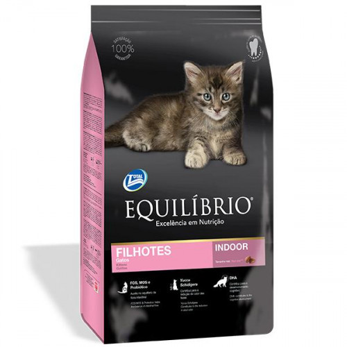 Сухой корм Equilibrio Cat суперпремиум, для котят, 1.5 кг