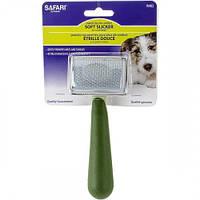 Пуходерка Safari Soft мягкая для собак и котов, маленькая