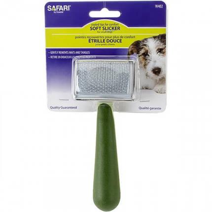 Пуходерка Safari Soft м'яка для собак і котів, середня, фото 2