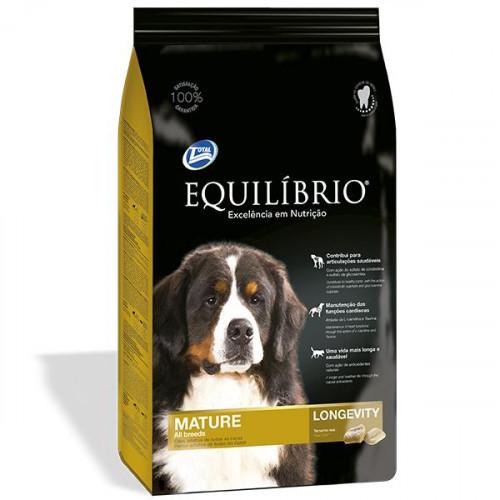 Сухой корм Equilibrio Dog для пожилых или малоактивных собак средних и крупных пород, 2 кг