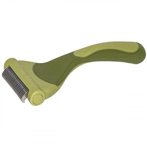 Инструмент Safari Shed Magic New для линяющей шерсти собак, средний