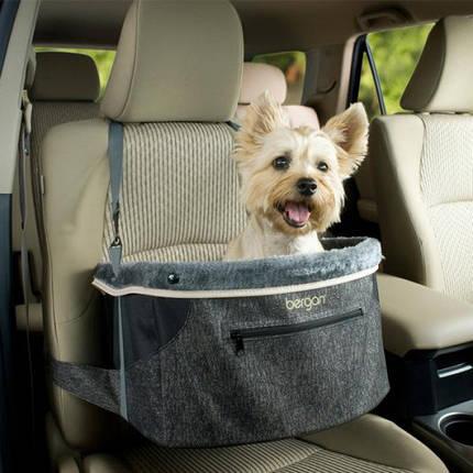 Сумка Bergan Comfort Hanging Dog Booster автогамак, на переднє сидіння в автомобіль для перевезення собак, фото 2