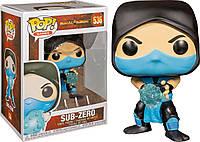 Фигурка Funko Pop Фанко Поп Саб ЗироМортал Комбат Mortal KombatSub Zero 10 см MK SZ536