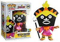 Фигурка Funko Pop Фанко Поп Колдун Скуби Ду Scooby Doo Witch Doctor  10 см cartoon SD WD 630