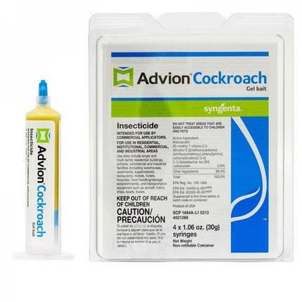 Адвион / Advion Cockroach гель от тараканов (30 г) лучшее средство от тараканов, фото 2