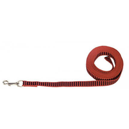Тренувальний поводок без ручки Sprenger для собак, червоний, 2 х 500 см, фото 2