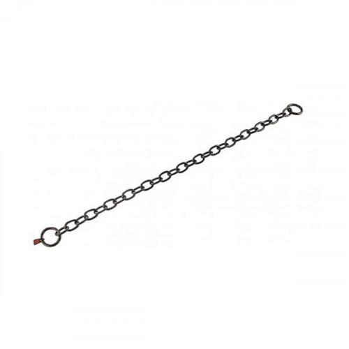 Ошейник Sprenger Long Link для собак, со средним звеном, черная сталь, 4 мм, 69 см