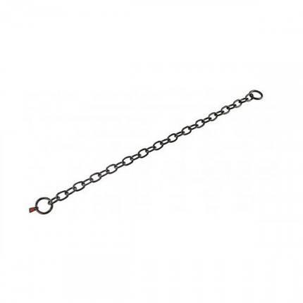 Ошейник Sprenger Long Link для собак, со средним звеном, черная сталь, 4 мм, 69 см, фото 2