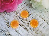 """Серединка, планер с блестками """"Апельсин"""", d 22 мм, 1 шт"""