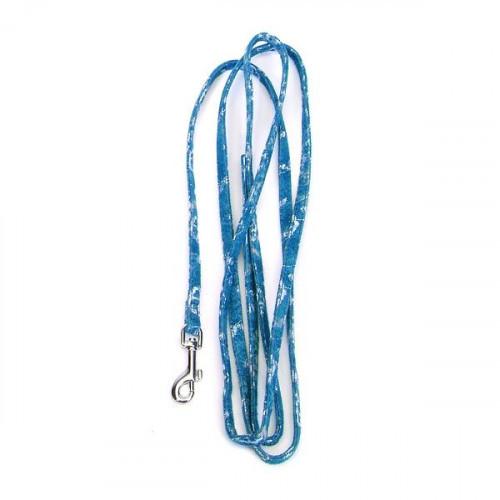 Поводок Coastal Lit`l Pals для собак, синий, 0.8 см×1.8 м