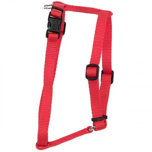 Нейлоновая шлея Coastal Nylon Adjustable для собак, красный, 1.6×40-66 см