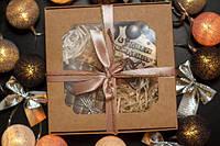 """Шоколадный подарочный набор """"С днём рождения"""" - черный шоколад"""