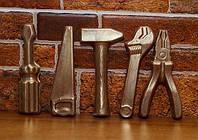 Подарок ребенку - Шоколадный набор - Инструменты - черный шоколад