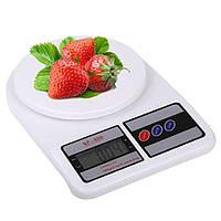 Кухонные электронные весы с чашей от 1 г до 10 кг 1679 SF-400