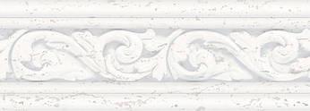 Декор Плитка Intercerama Treviso бордюр широкий серый (БШ119071)