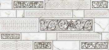 Декор Intercerama Plaza серый (Д95071)