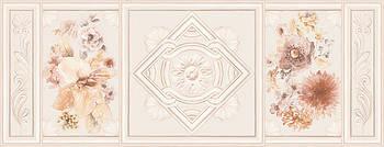 Декор Intercerama Treviso серый (Д119071)