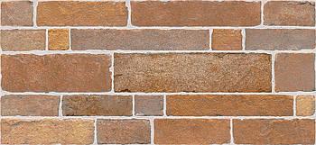 Плитка Intercerama Brick красно-коричневая стена