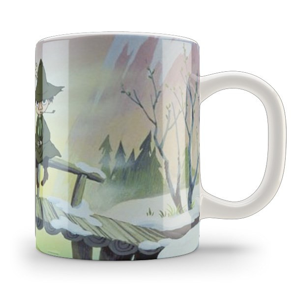 Кружка чашка Муми-тролль и Снусмумрик