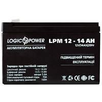 Батарея к ИБП LogicPower LPM 12В 14Ач (4161)