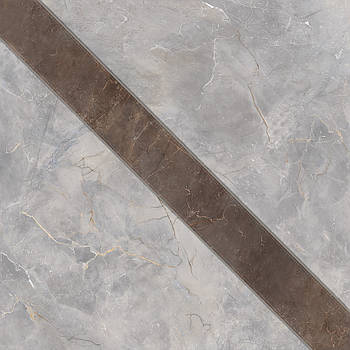 Декор Intercerama Veneto светло-серый