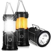 Фонарь для кемпинга. Кемпинговый фонарь. Палаточный фонарь XF-5800T с эффектом пламени