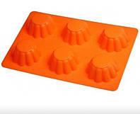 Силиконовая форма для выпечки кексов Empire М-9825