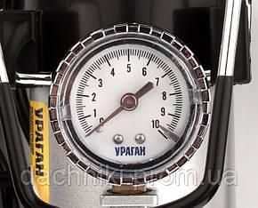 Автокомпрессор Vitol Ураган с автостопом 10 атм 40 л/мин, фото 2