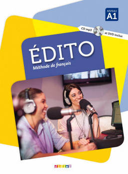 Edito A1 Livre eleve + DVD-Rom (audio et video) Edition 2016
