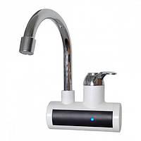 Проточный водонагреватель ZERIX ELW-21-W мгновенный нагреватель воды Зерикс, кран смеситель настенный