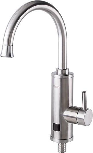 Проточный водонагреватель ZERIX ELW-04-EP с LED экраном и УЗО, мгновенный нагреватель воды Зерикс